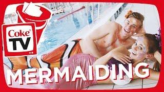 Marie & Jonas als Meerjungfrauen | #CokeTVBucketlist
