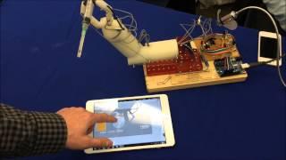 Manipulador Robótico Accionado con Nitinol sin Motores