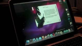 Mac Book の 純正 HDD と SSD で Photoshop を起動