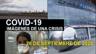 Covid19 Imagenes de una crisis en el mundo 28 de septiembre.-