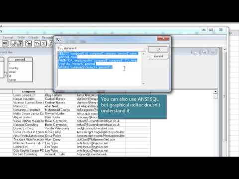 Join Or Merge Two Tables In Excel Using Microsoft Query Easy From ...