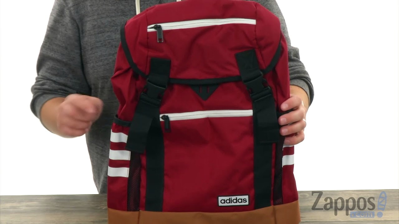 Cincuenta mermelada válvula  adidas Midvale Backpack SKU: 8880918 - YouTube