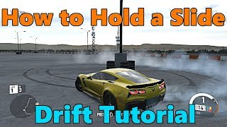 Forza Motorsport 7 | Drift Tutorial: How to Hold a Slide