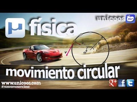 FISICA Movimiento circular uniformemente variado MCUV 01 SECUNDARIA (4ºESO) MCUA