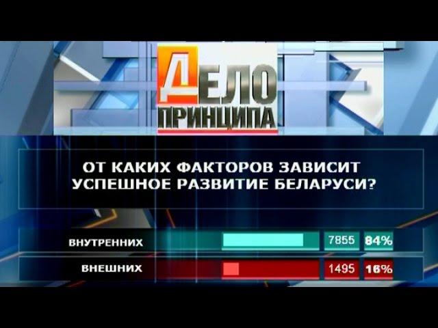 Дело принципа. От чего зависит развитие Беларуси