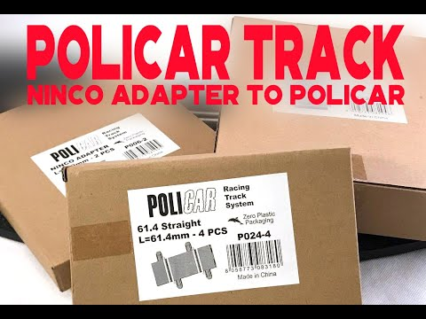 Ninco to Policar adapter unboxing