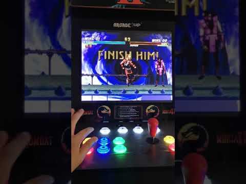 Arcade1up mod mortal kombat trilogy from TAKATA SRT