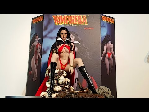 UPDATE ON TBLEAGUE VAMPIRELLA : SCARLET WITCH HEAD NOW WITH BLACK HAIR