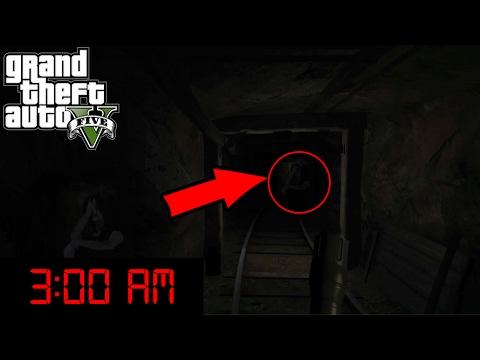 Haunted Places in GTA 5 at 3:00 AM (DEVILS HOUR)