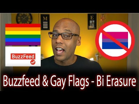 How Buzzfeed & Gay Flags Erase Bisexuals (Bi Erasure)
