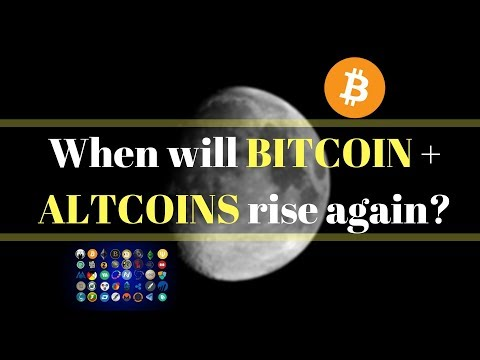 When Will BITCOIN And ALTCOINS Rise Again?