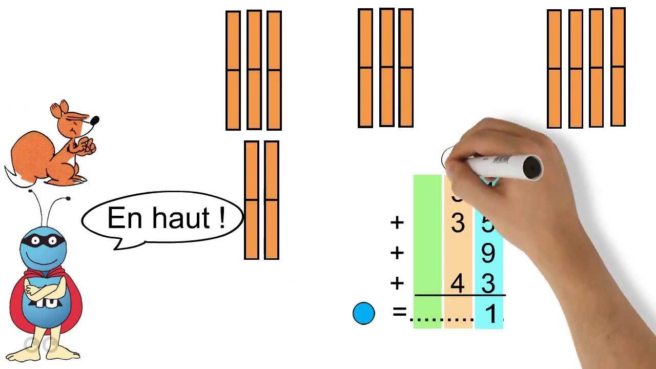 L Addition Lecon 1 Calculer Une Addition Youtube