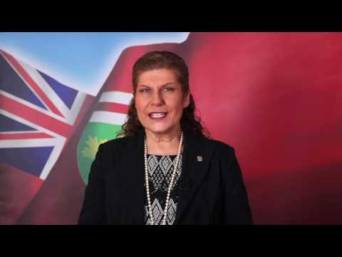 Video Greeting from Honourable Laura Albanese, Minister of Citizenship and Immigration for Ontario
