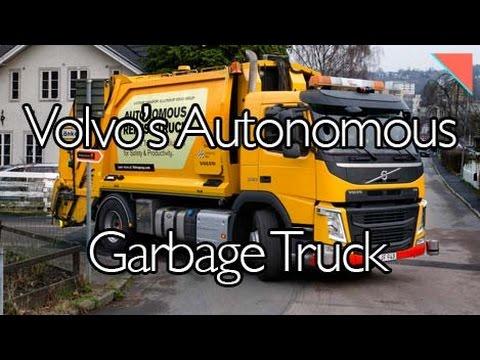 Autonomous Garbage Truck, Ford Explains Job Cuts - Autoline Daily 2111