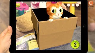 MY CUTEST KITTEN | Bring Cute Kittens to Life in your own Home | Book & FREE app | Android i0S