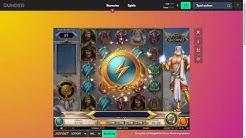 Dunder Casino Gameplay Video | Online Casino für jedermann | Rise of Olympus Echtgeld Test
