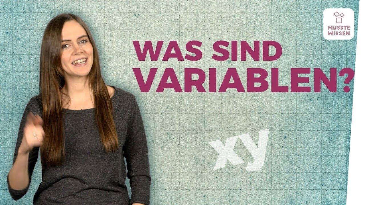 Download Variable einfache Erklärung I Rechnen mit x y Mathe