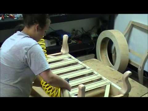 natuzzi swivel chair west elm slipper upholstery jute webbing - youtube
