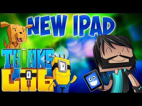 I BROKE MY IPAD!! | Think's Lab Minecraft Mods [Minecraft Roleplay]