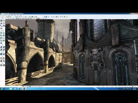 Unreal Development Kit UDK Tutorial - 2 - How to Move Around