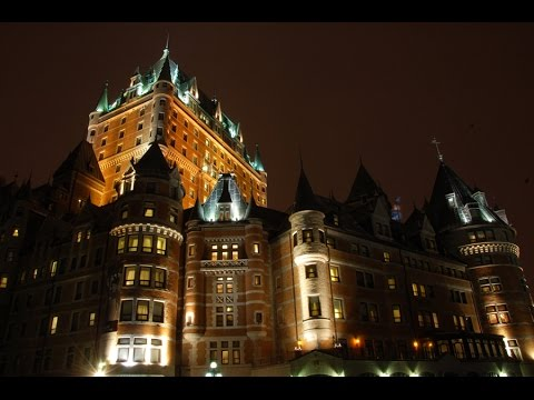Quebec city at Night - Christmas