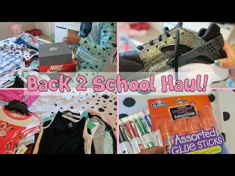 5th Grade Back to School Haul | Clothes, Shoes + Supplies  ▸ 2018
