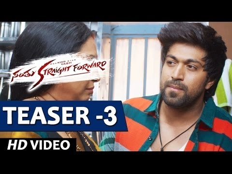 Santhu Straight Forward Video Teaser 3 | Yash, Radhika Pandit  | V. Harikrishna | Mahesh Rao