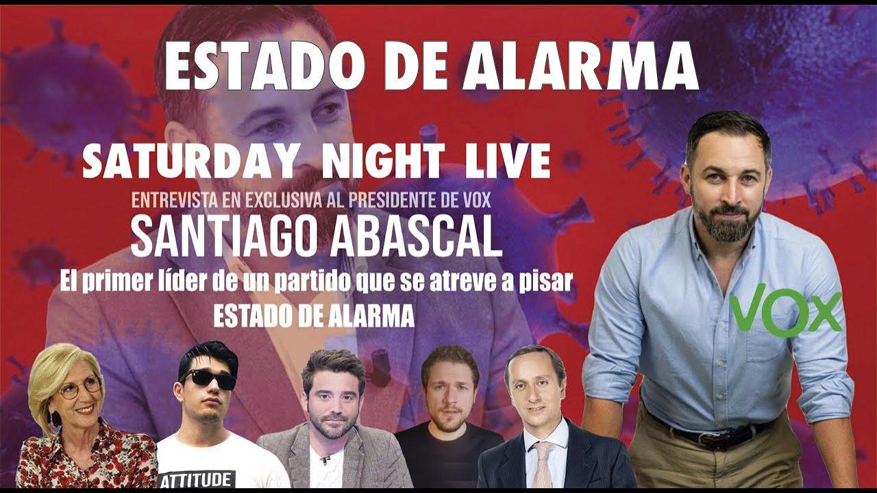 Entrevista exclusiva al líder de VOX, Santiago Abascal