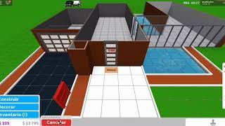 MODERN HOUSE 1 FLOOR ( BLOXBURG ) ROBLOX
