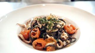 Готовим пасту с морепродуктами под руководством итальянского повара
