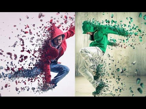 Photoshop 3D Dispersion Effect Tutorial
