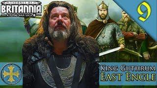 VICTORY SERIES FINALE Total War Saga Thrones of Britannia East Engle C aign Guthrum Gameplay 9