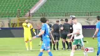 فرحه لاعبي المصري وصدمة الزمالك عقب انتهاء المباراة