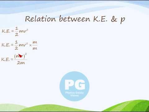 Relation between Kinetic Energy and Momentum (GA_M-WPE23)