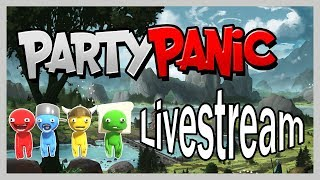 Hilarious Panic Party Gameplay! Little T and Big C Play Party Panic! Extravaganza!