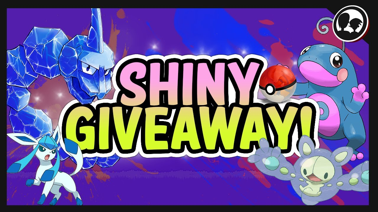 Mythical Pokemon Giveaway Live