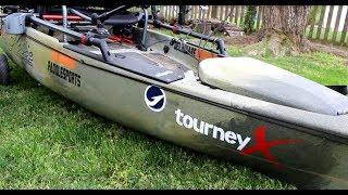 The Ultimate Tournament Kayak Setup HOBIE PRO ANGLER 12
