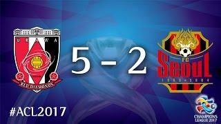 Urawa Red Diamonds vs FC Seoul (AFC Champions League 2017 : Group Stage -  MD2)