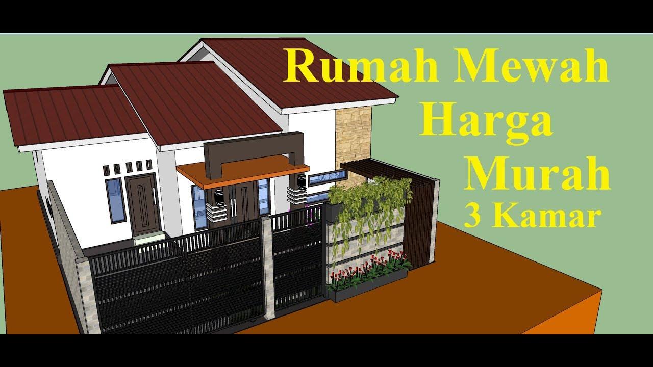 Desain Rumah Minimalis Sederhana 9x10 M 3 Kamar Terbaru Youtube