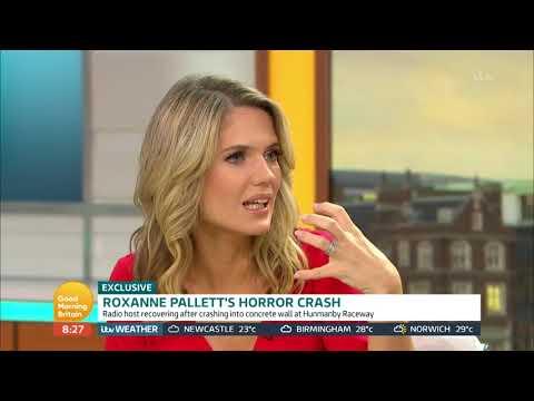 Roxanne Pallett's Horror Crash  Good Morning Britain