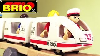 Oyuncak çizgi film - Toplu taşıma araçları - Brio şehrinde tren ve uçakla seyahat