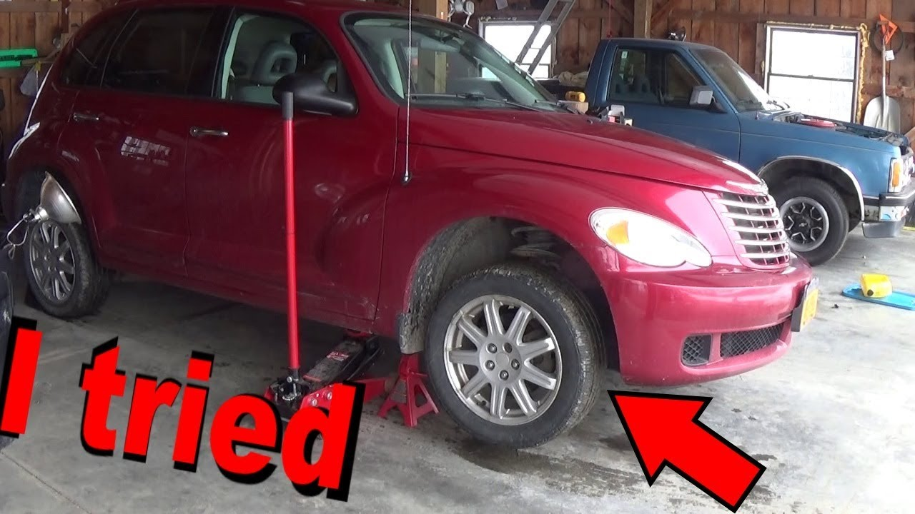 Pt Cruiser Touring Tie Rods - I Failed This Challenge      Lol