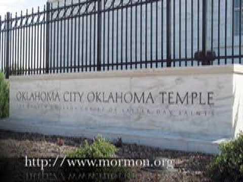 Oklahoma City Oklahoma LDS (Mormon) Temple - Mormons