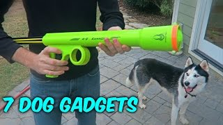 Repeat youtube video 7 Dog Gadgets Put to the Test