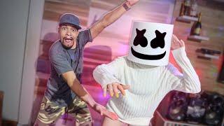 FIZEMOS O CAPACETE DO DJ MARSHMELLO EM CASA!!!
