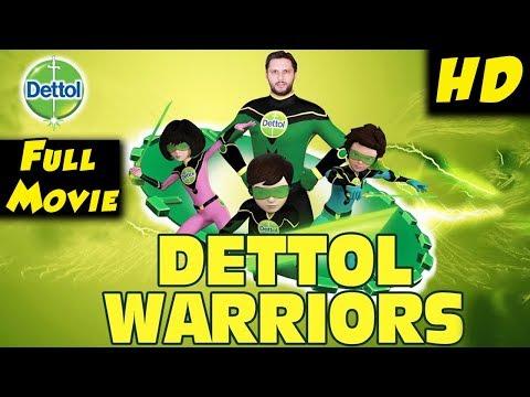 Dettol Warriors   Movie  Ali Sara Rizz Shahid Afridi  Pakistani Cartoons  Cartoon Central