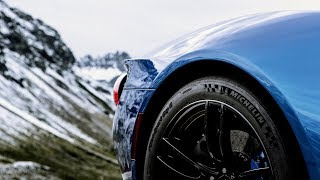 Ford GT in the Austrian Alps