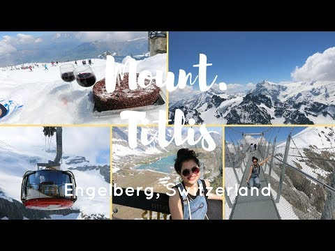 Mount. Titlis Adventure in Summer Vlog | Titlis Vlog - Switz