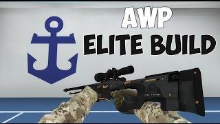 cs go awp   elite build factory new gameplay   operation wildfire