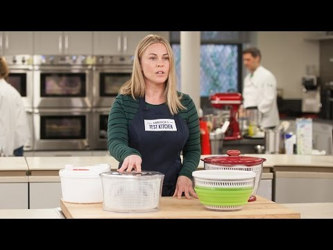 Why America's Test Kitchen Calls the OXO Good Grips Salad Spinner the Best Salad Spinner
